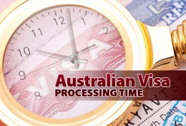 Australia ETA processing time