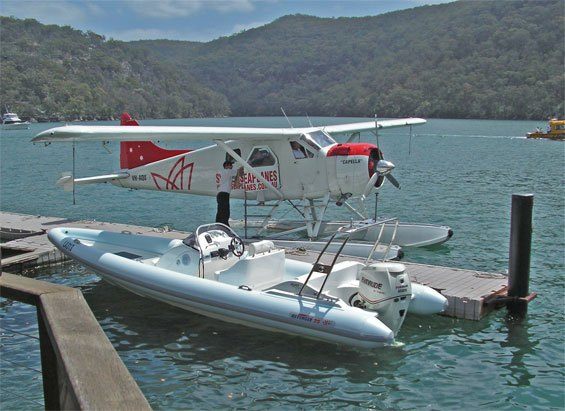 Catch a Sydney seaplane to lunch